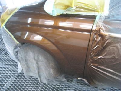 スパイクの鈑金塗装 碧南市のお客様