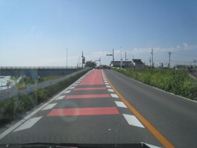 安城、岡崎からの道順。鷲塚橋左見えます
