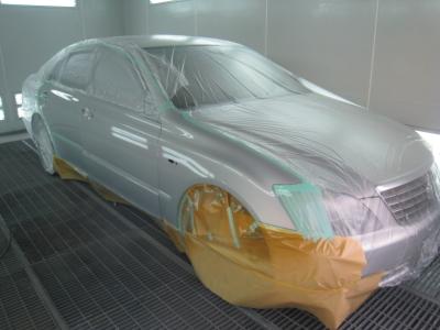 トヨタ、クラウンの板金塗装修理 (碧南市からご来店)