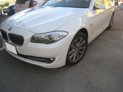 BMWの板金塗装修理(西尾市からご来店)